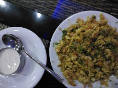 Egg podimas (Indian dish actually)